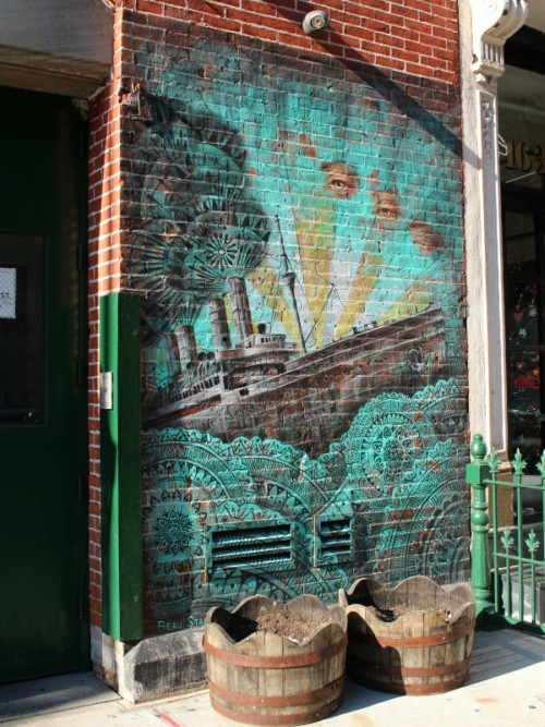Beau Stanton mural Little Italy NYC