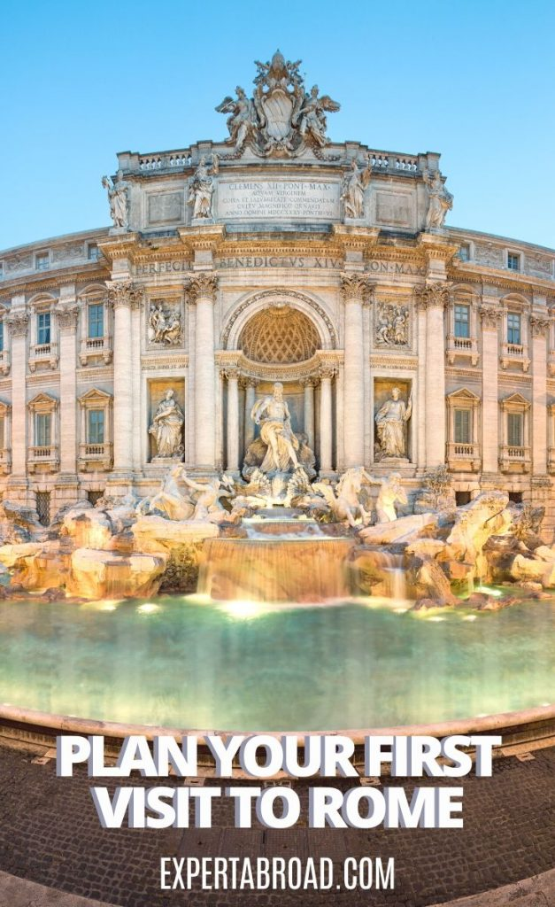 Trevi Fountain how to visit Rome