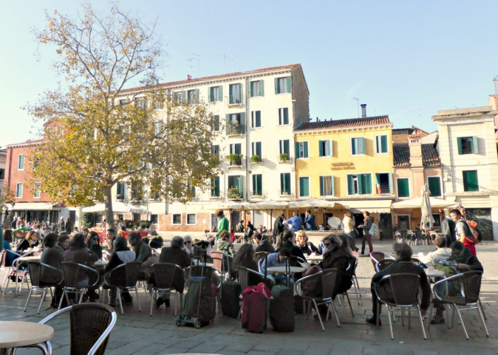 afternoon at Campo Santa Margherita Venice