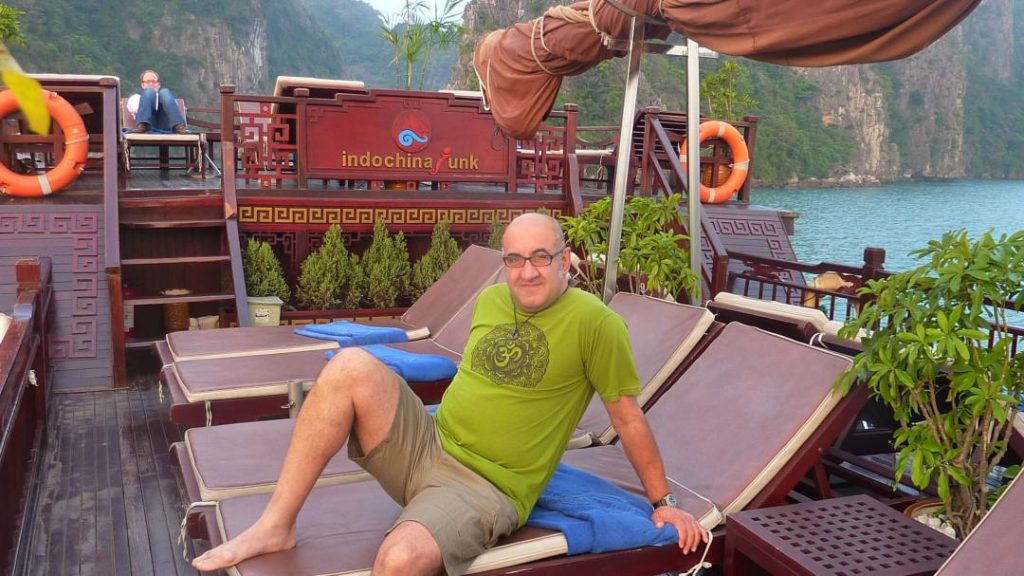 great facilities on our Halong Bay Cruise boat