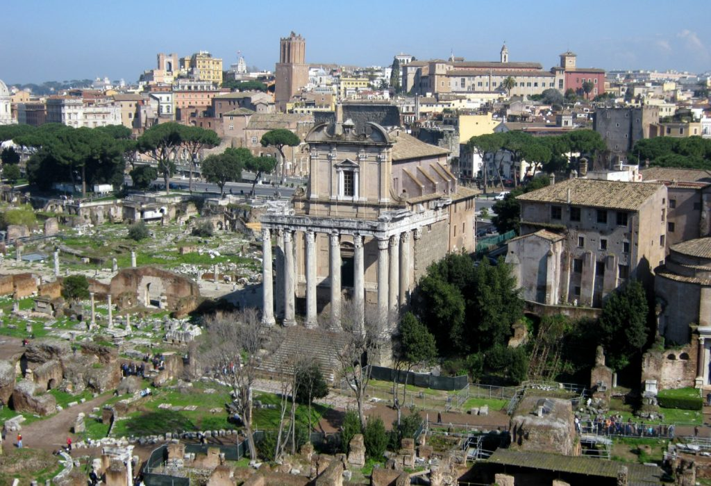 Rome Forum from Palentine Hill