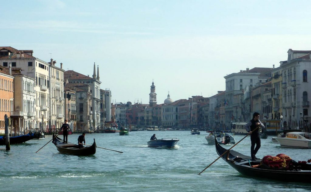 Grand Canal Venice 2011 on our first visit