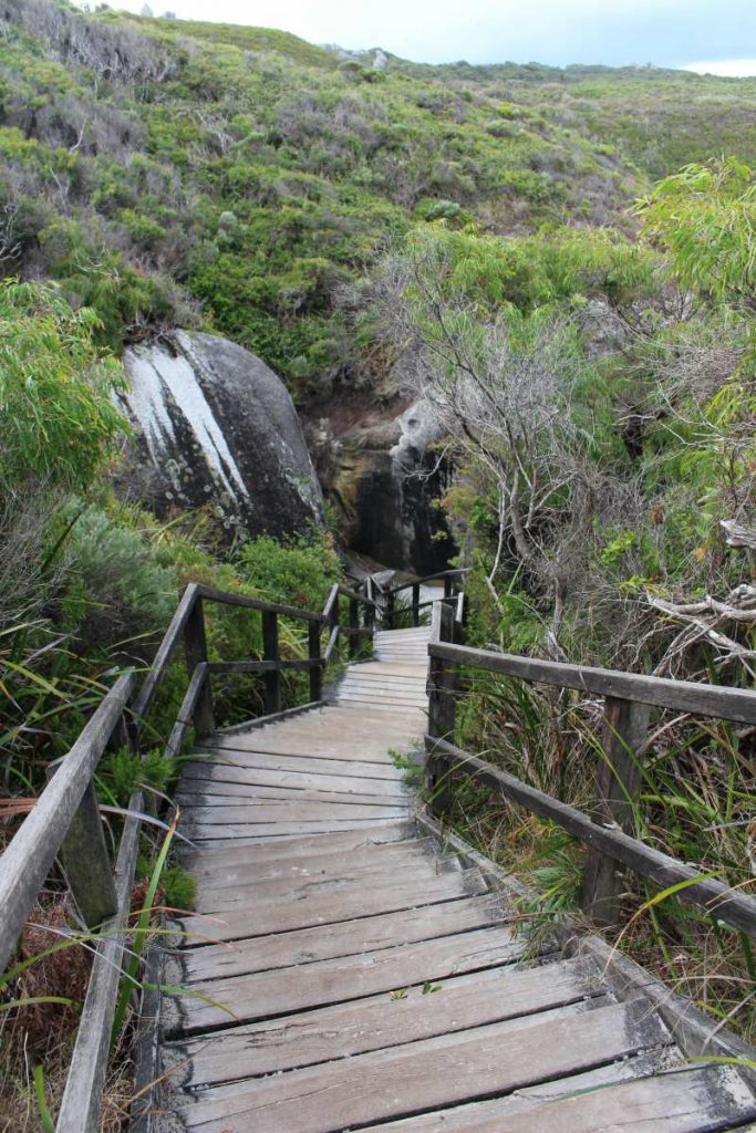 Stairs to Elephant Cove Beach
