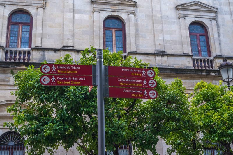 Seville Spain Signs