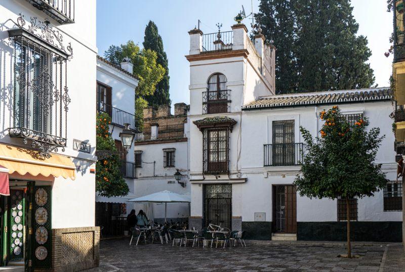 Santa Cruz Neighborhood Seville Spain