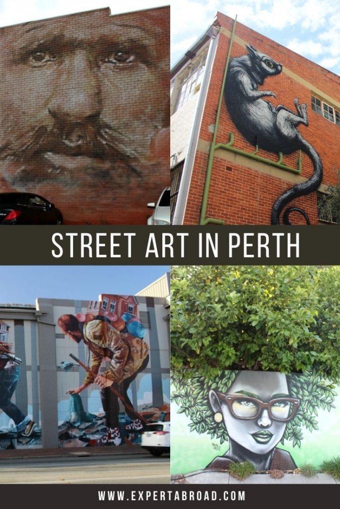 4 perth Street art murals