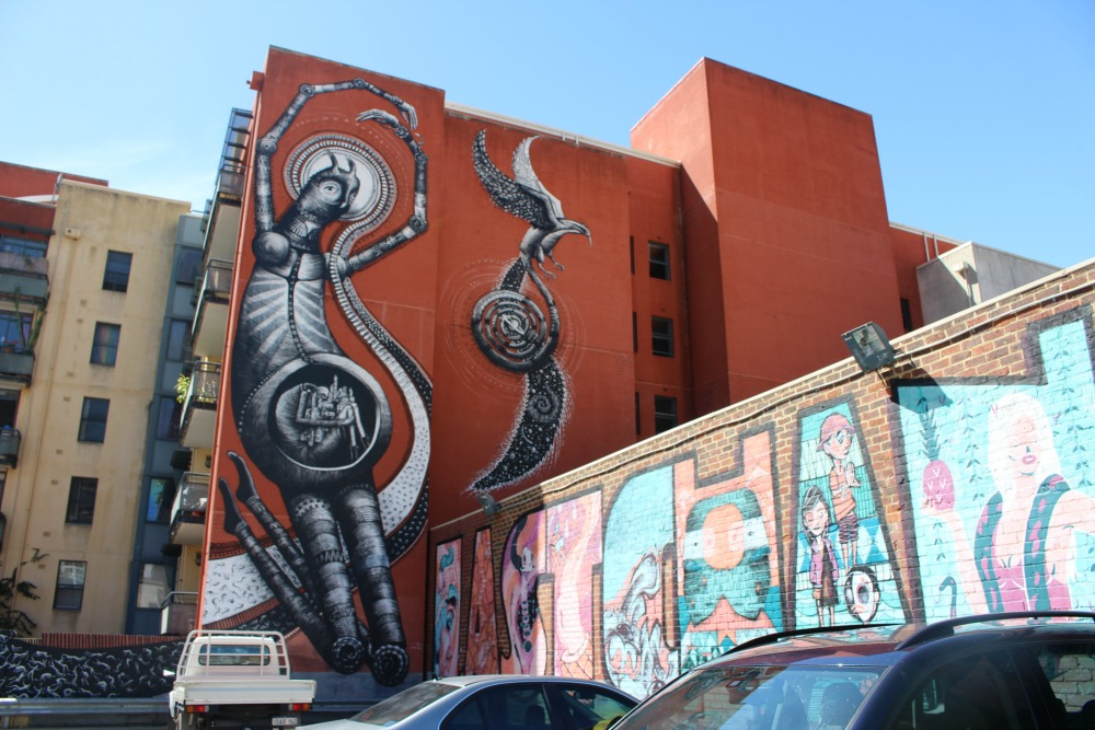Phlegm Murray St Carpark Perth