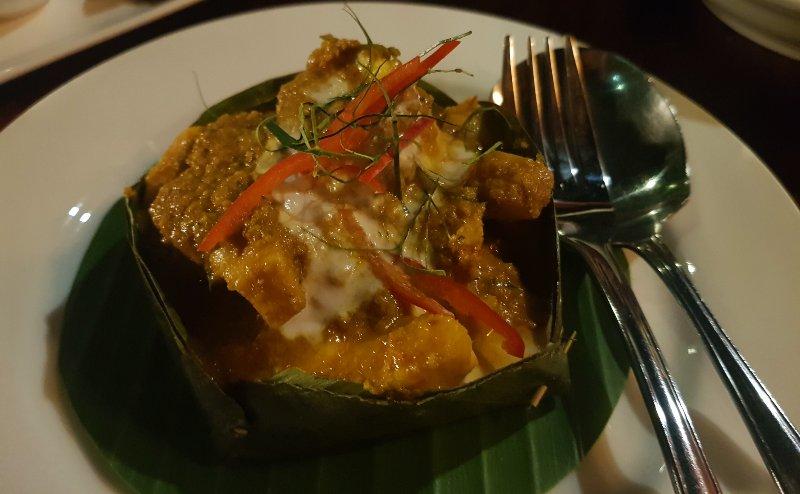 Fish Amok at Romdong Cambodia