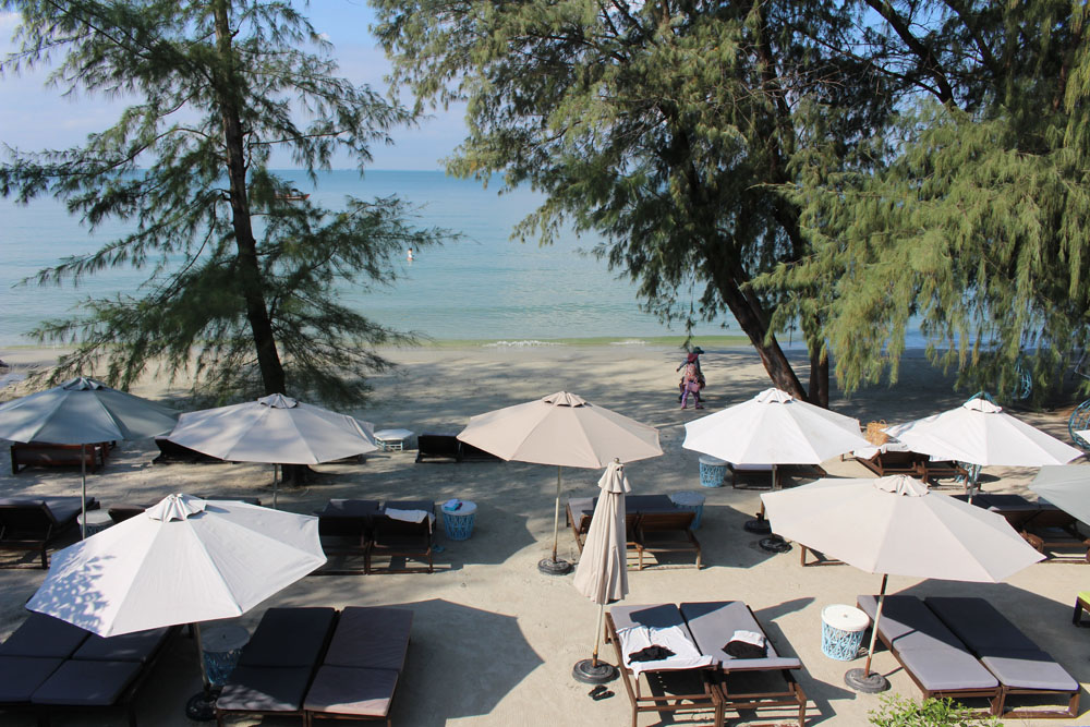 Sihanouville Cambodia Naia Resort Beach bar