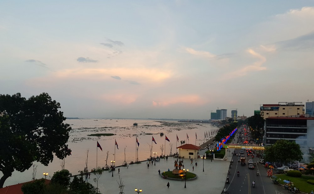 Phnom Penh Sunset Cambodia