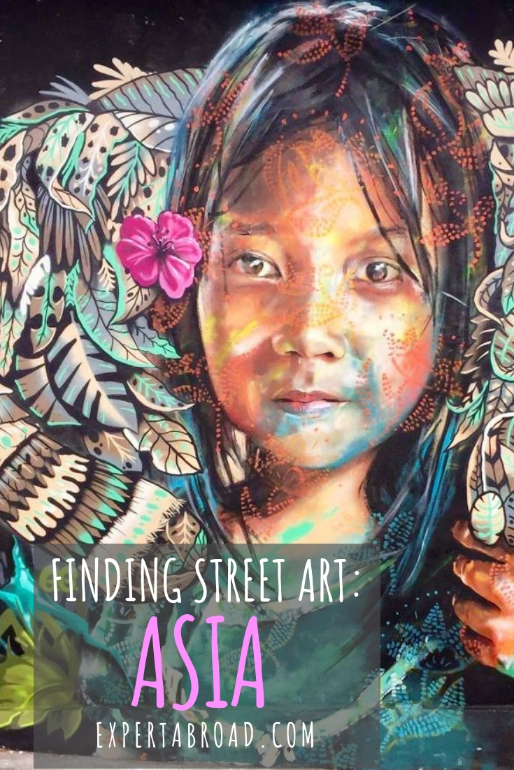 Street art can help you learn more about the places you visit and the murals and street art in Asia is no exception. Check out some great murals in Malaysia, Cambodia, Taiwan, South Korea and Singapore