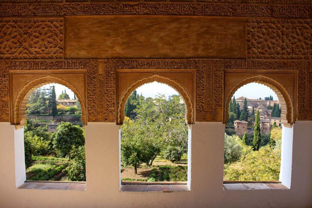 Nasrid Palace Granada Spain