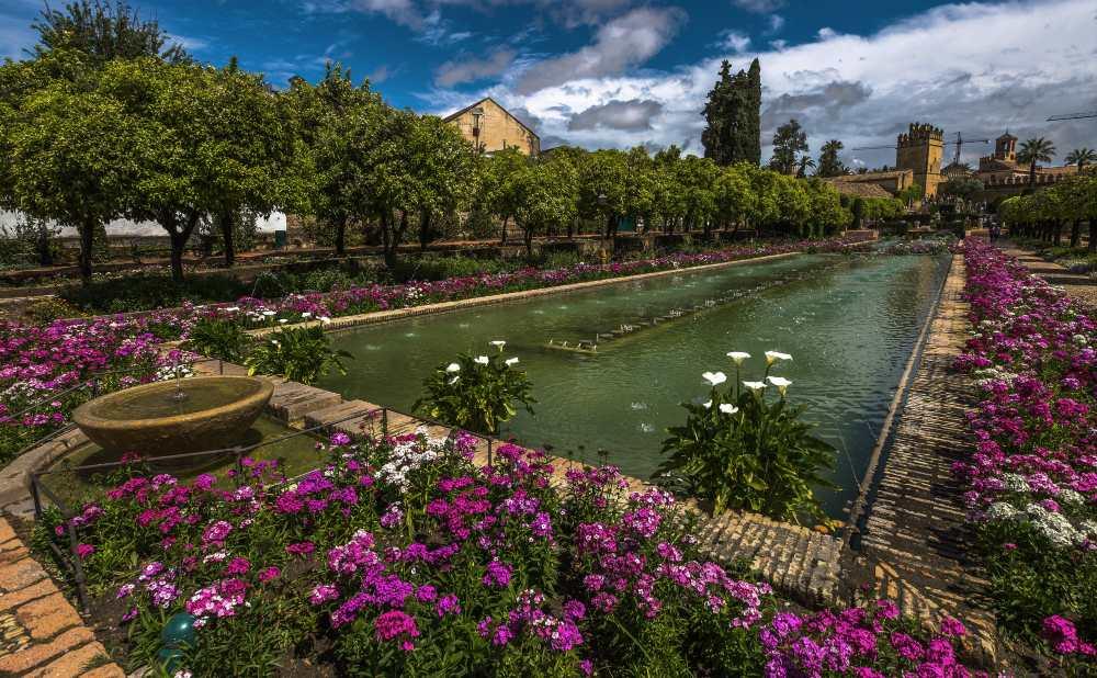 Alcázar de los Reyes Cristianos Garden Cordoba
