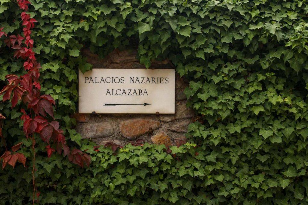 Palacios Nazaries sign Granada Spain in 3 days