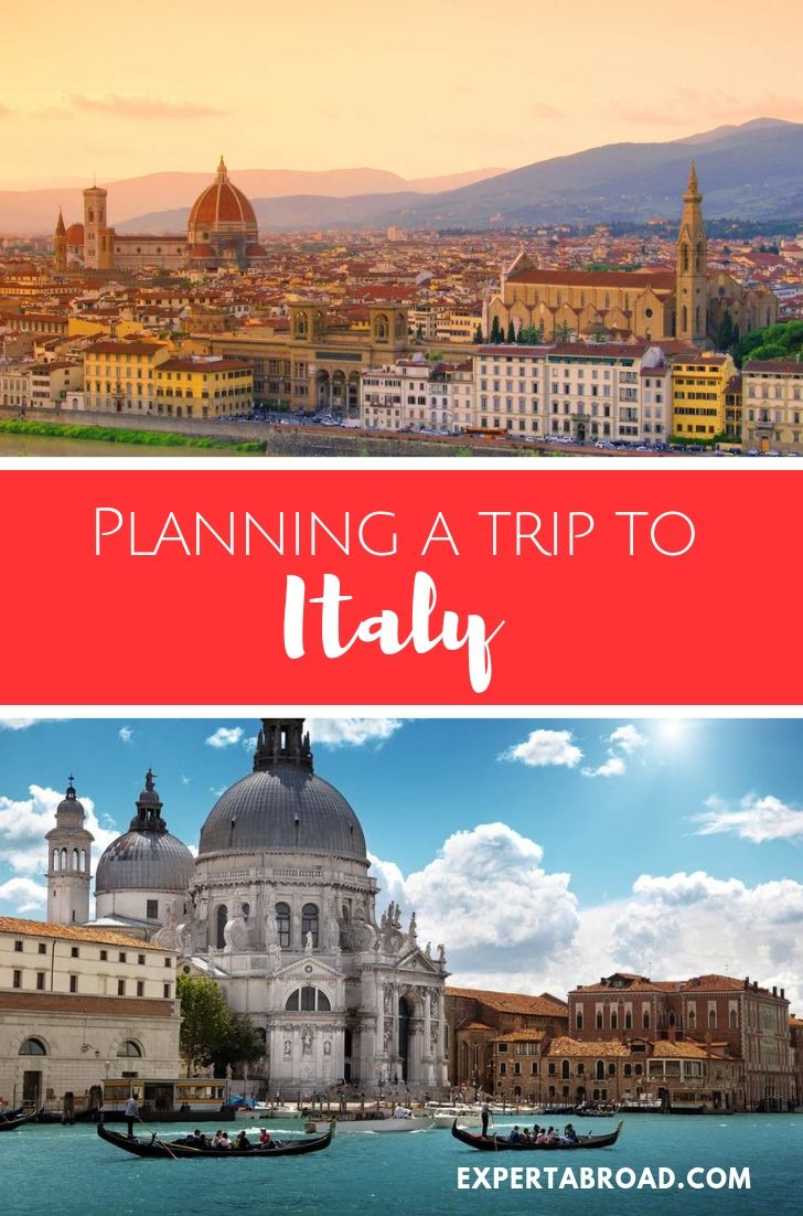 Plan a trip to Italy for 21 days