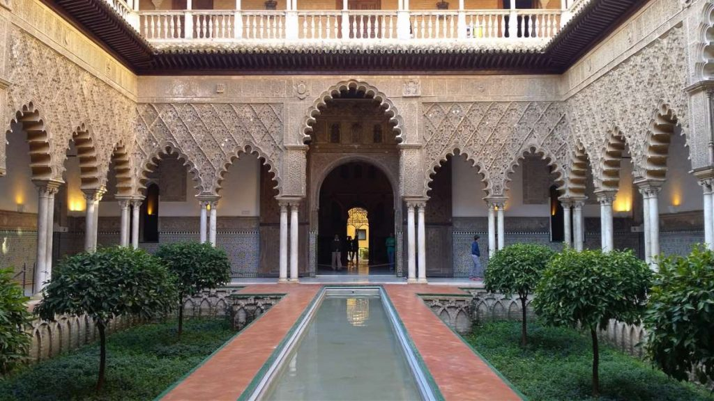Seville UNESCO Real Alcazar Spain