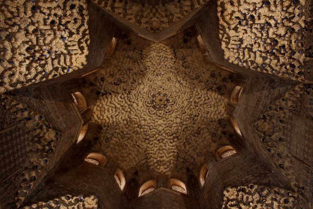 Alhambra Ceiling Granada Spain