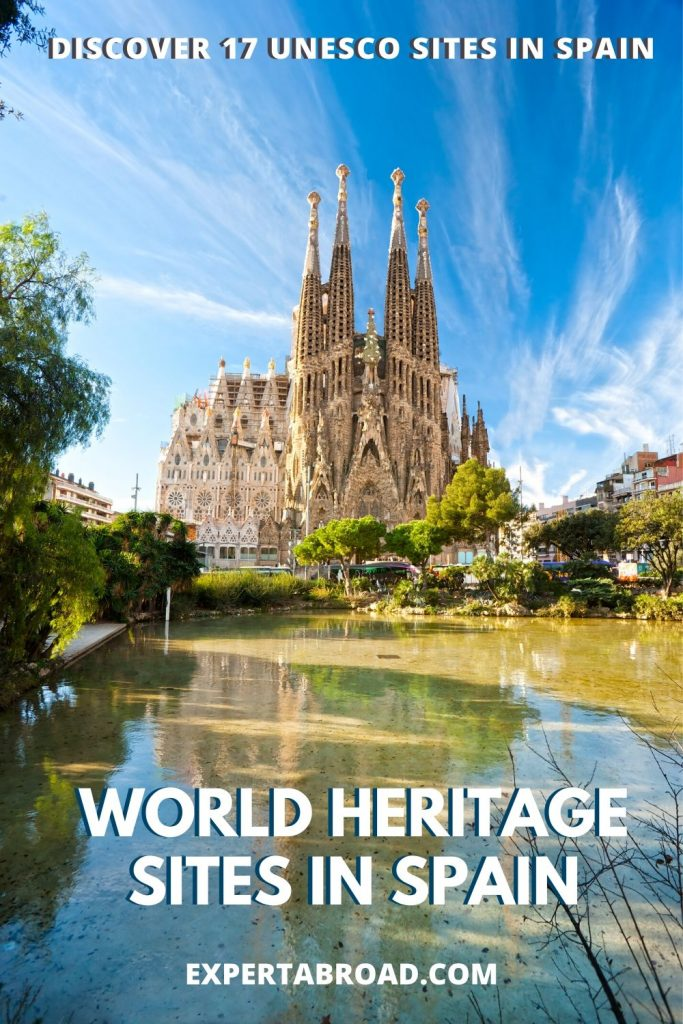 spain's world heritage sites Sagrada Familia