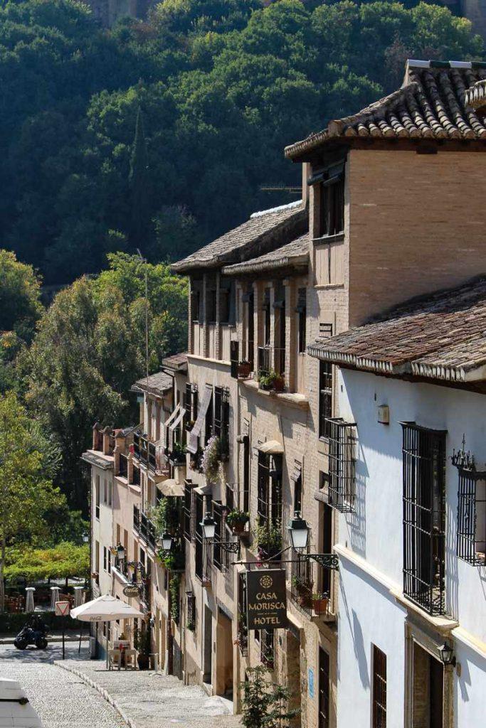 15th century Hotel Morisca perfect for 3 days in Granada Spain