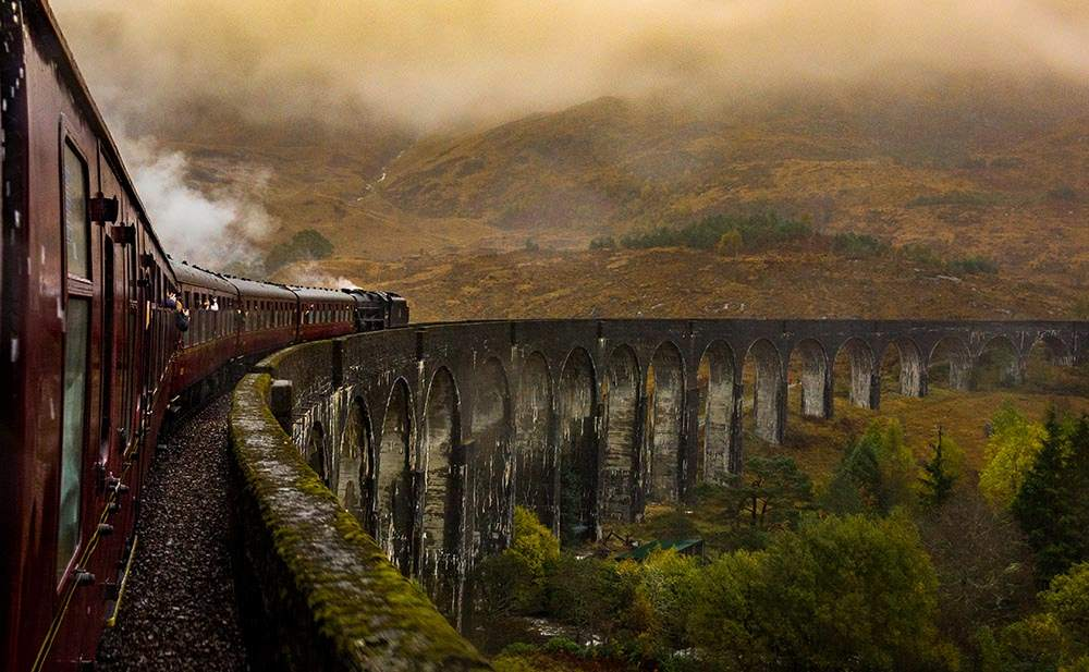Jacobite Stream Train Scotland