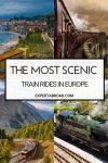 scenic train rides in europe