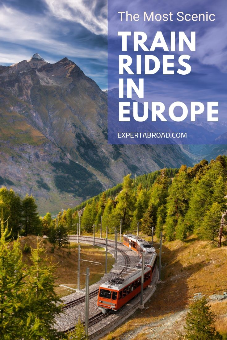 Scenic Trains in Europe