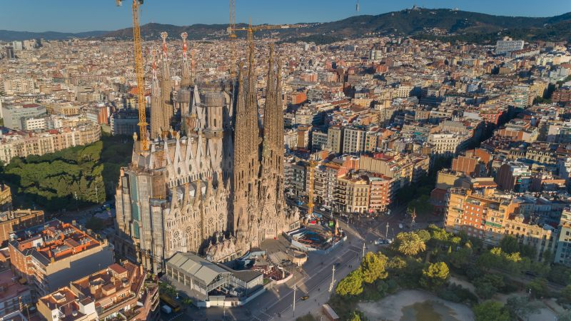 Barcelona Spain Sagrada Familia