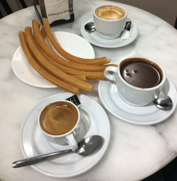 Chocolateria San Gines Madrid's famous hot chocolate hotspot