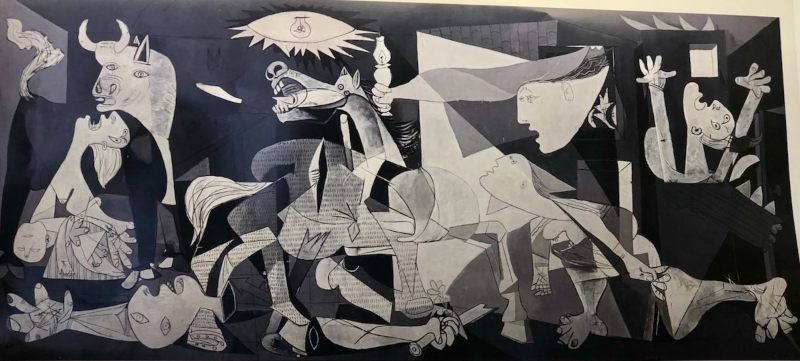 Piccaso's Guernica Madrid Spain