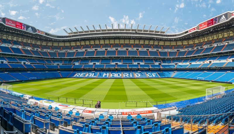 Read Madrid Stadium from the tour