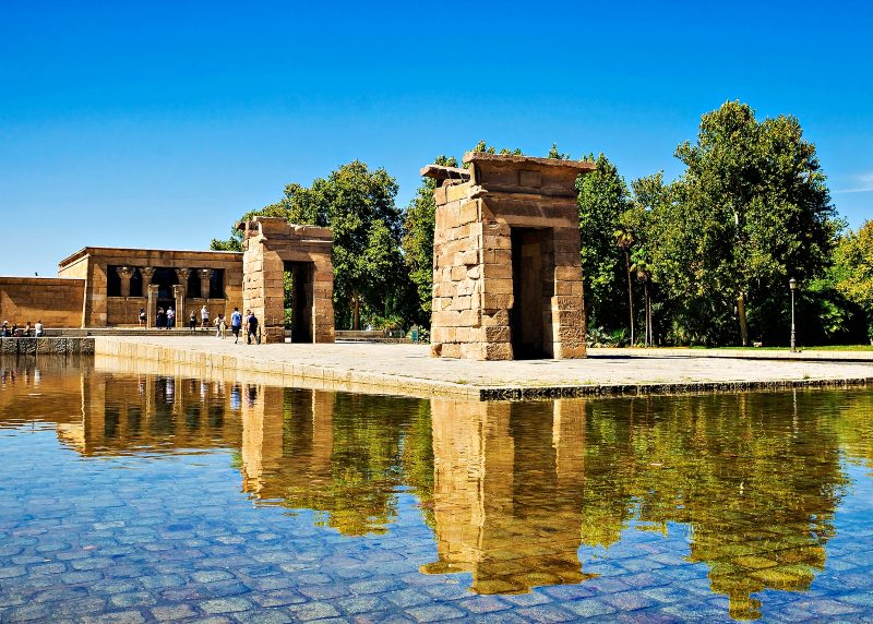Debod- Temple Ancient Egyptian temple,
