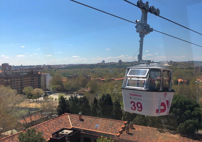 Telefunco Funicular Madrid Spain