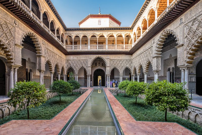 Real Alcazar Seville Spain