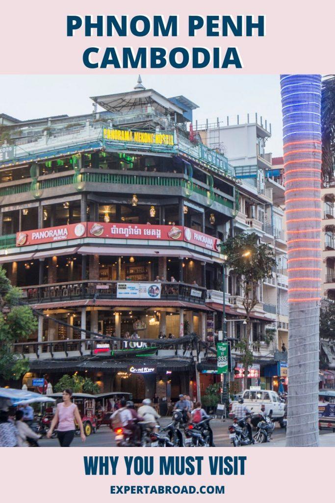 Phnom Penh city centre