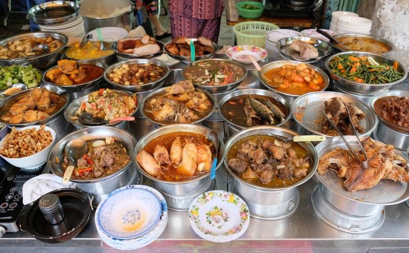 Saigon Vietnam food stall