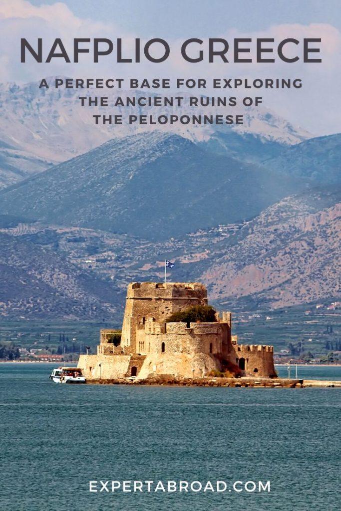 Fort Nafplio Greece