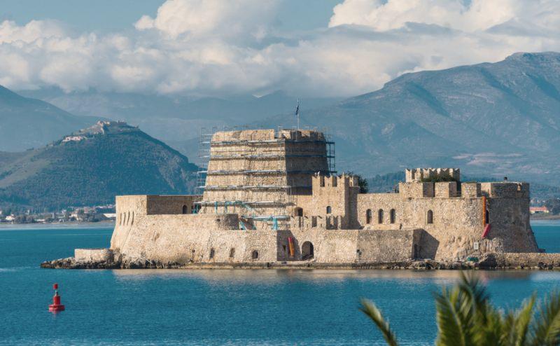 Bourtzi Nafplio Greece