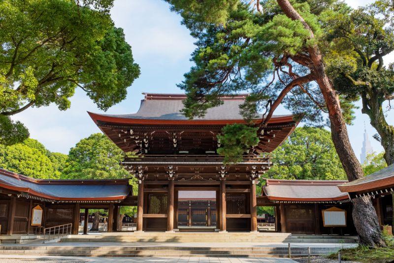 Meji Shrine Tokyo, Japan.