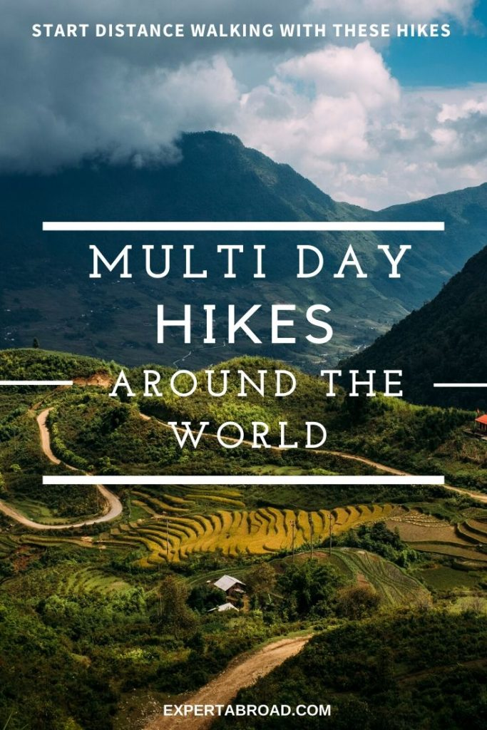 Mulit Day Hikes around the world