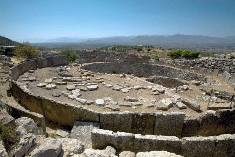 Tomb of the Kings, in Mycenae