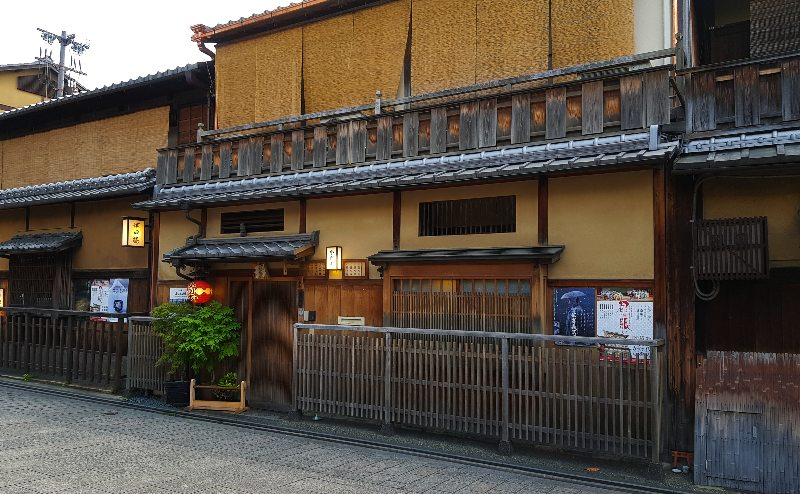 Traditional building in Gion 2019