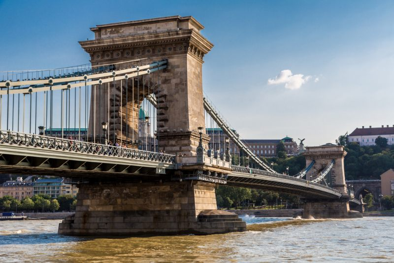 Szechenyi suspension bridge